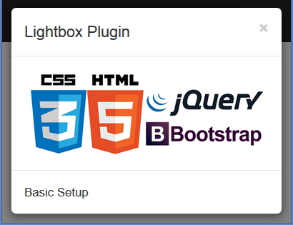 Bootstrap JS Modal plugin in XPages: Using Lightbox for Bootstrap 3