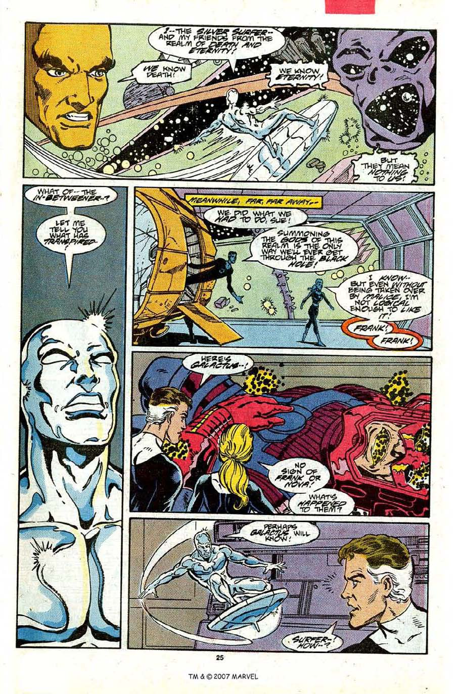 Read online Silver Surfer (1987) comic -  Issue #17 - 27