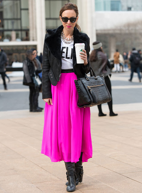 Guest Post How to Wear Pink and Look Badass - A Glimpse of Glam