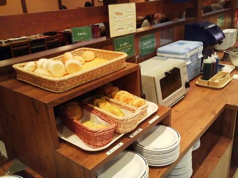 ビュッフェコーナー:パン ステーキガスト一宮尾西店4回目