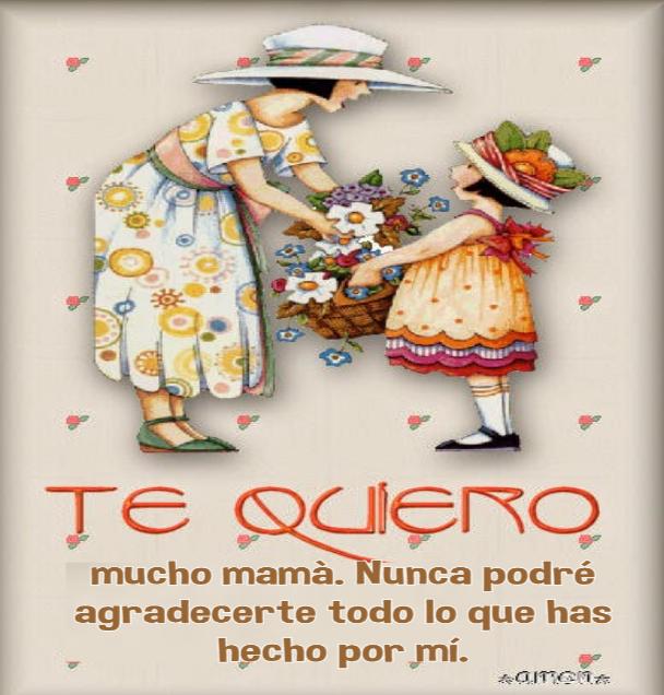postales día de la madre, imágenes para felicitar a las madres , Cosas lindas para dedicarle a mi Madre