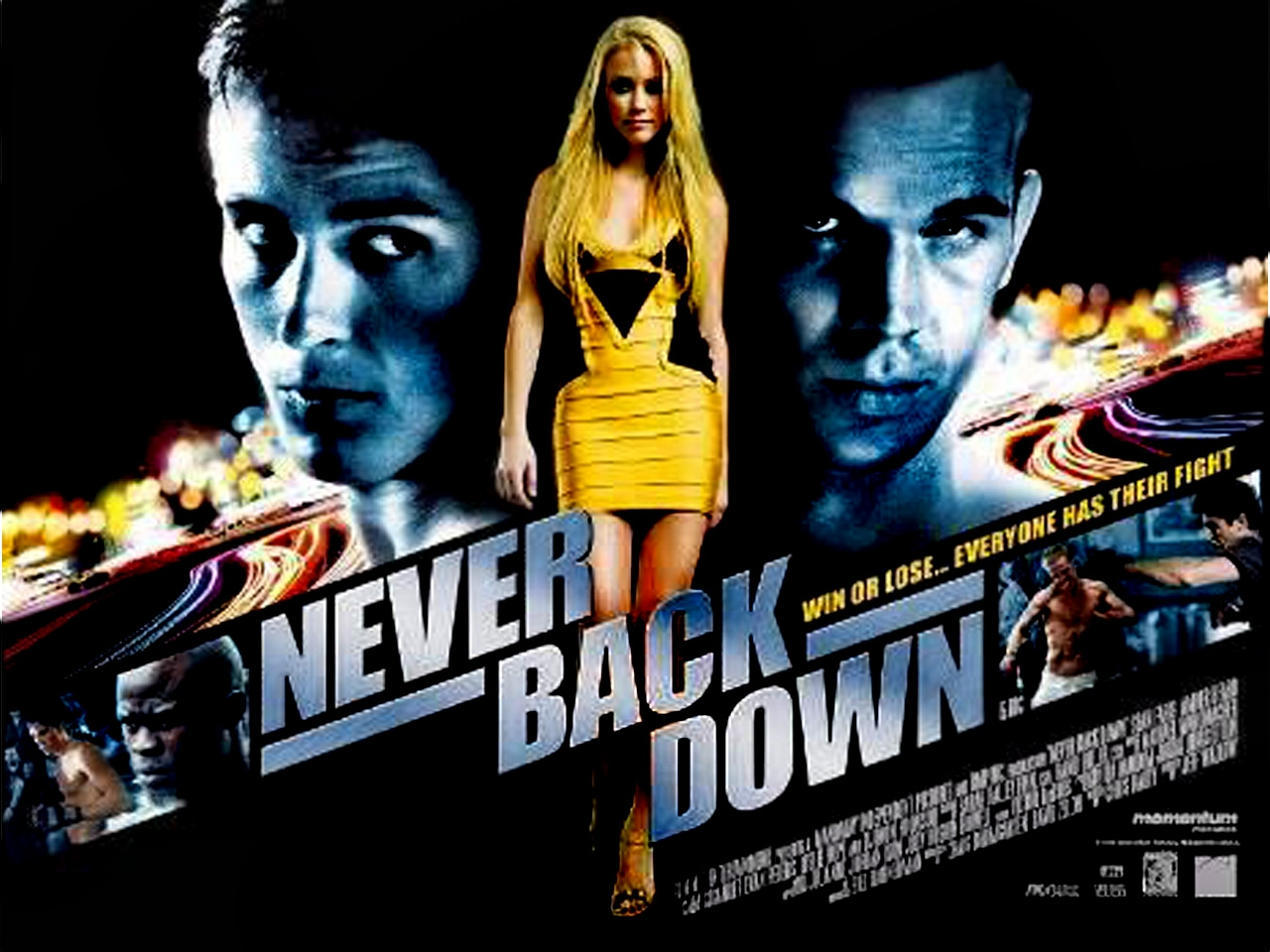 never back down full movie german