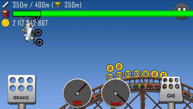 hill climb racing koin cheat terbaru