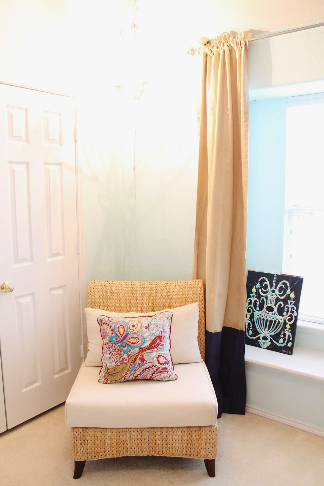 Tucker Up: House Tour: Girly Guest Bedroom