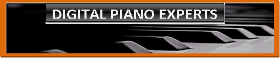 Picture of piano keyboard saying that AZ Piano Reviews & News are Digital Piano Experts