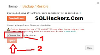 apne blogger blog ki themes ko kaiase badle sqlhackerz.com