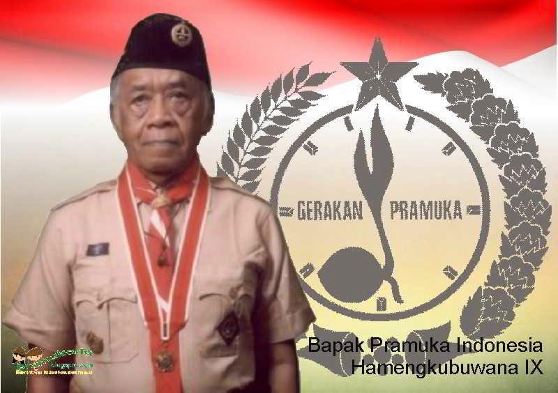 Sri Sultan Hamengku Buwono IX dinobatkan sebagai Bapak Pramuka Indonesia.