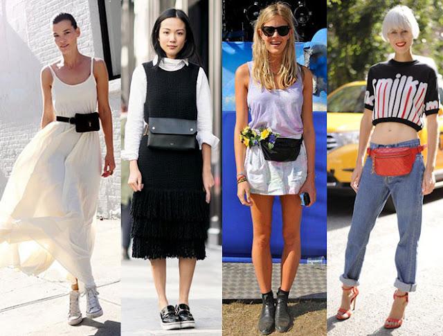 riñoneras de moda mujer