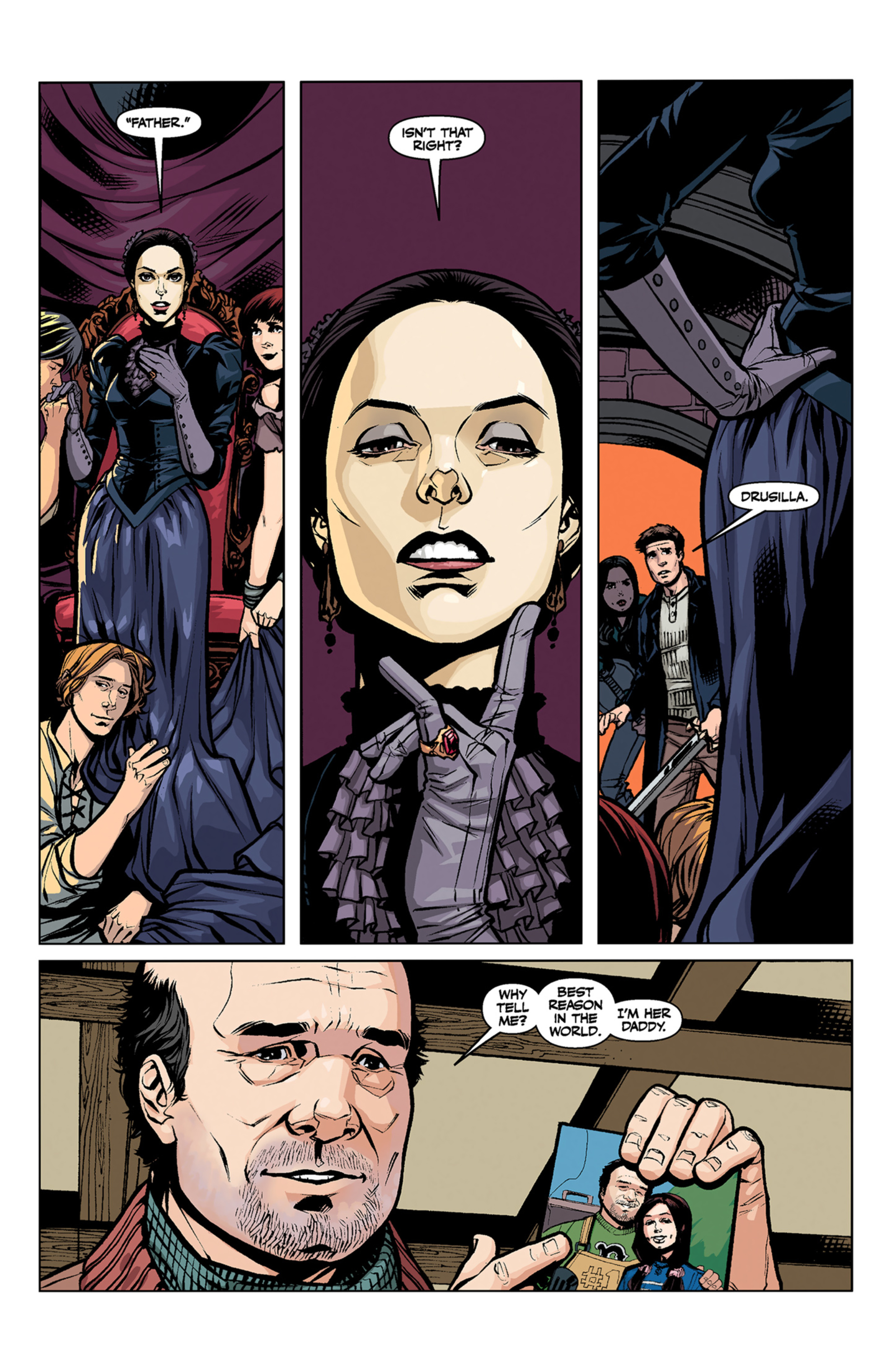 Read online Angel and Faith comic -  Issue #6 - 24