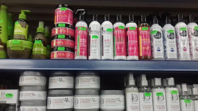Mielle Organics in the UK/A British afro hair shop