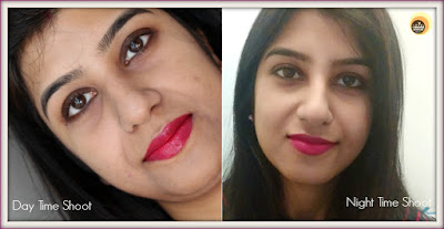 Wearing Revlon Super Lustrous Cherries In The Snow 440, Anamika Chattopadhyaya