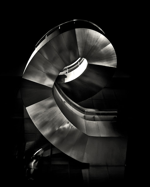 Art Gallery of Ontario Exterior Stairs No 1 by The Learning Curve Photography