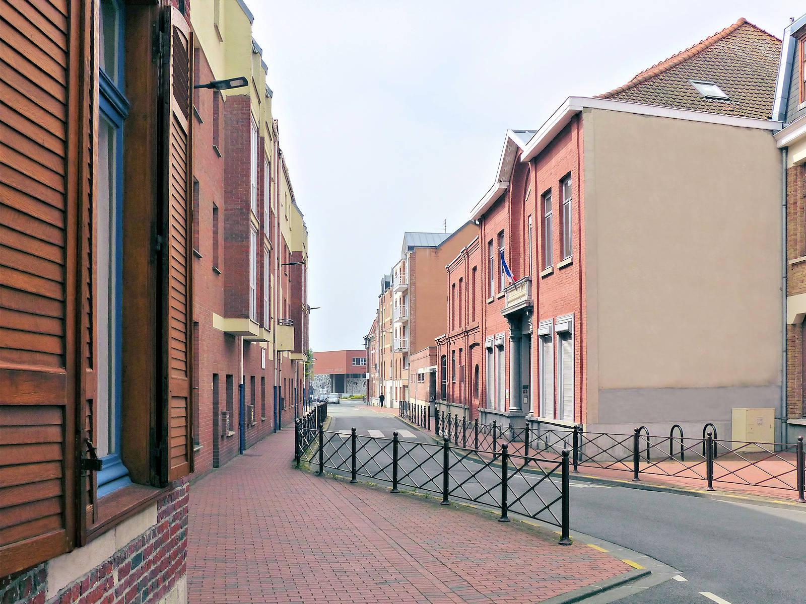 Rue des Anges, Tourcoing - Arceaux garage vélos