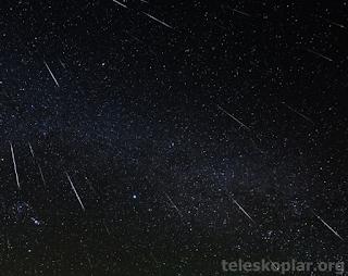 meteor yağmurları nedir?