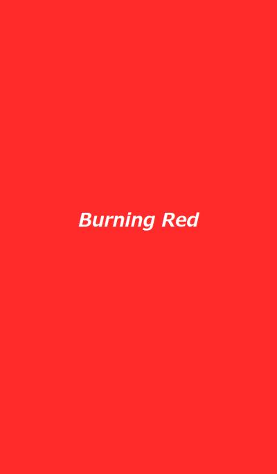 Burning Red