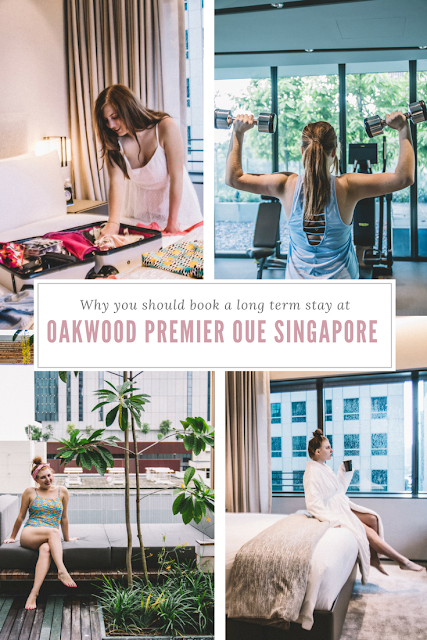Why you should book a long term stay at Oakwood Premier OUE Singapore