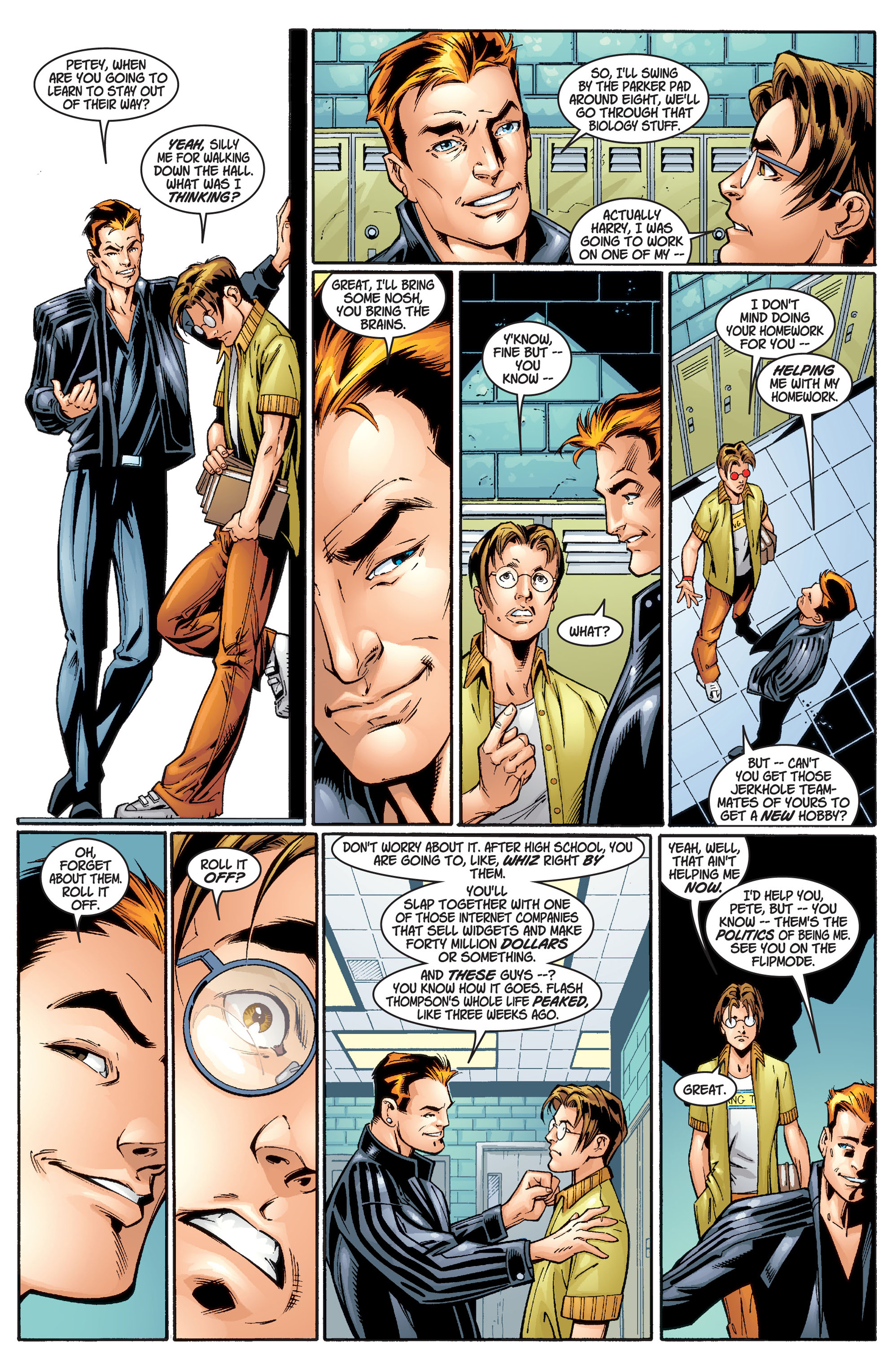 Read online Ultimate Spider-Man (2000) comic -  Issue #1 - 12