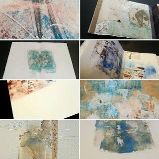 Proceso de Libro de Artista, Mirtya Huizzi.