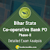 Bihar State Co-operative Bank PO Mains Exam Analysis, Review: 23rd February