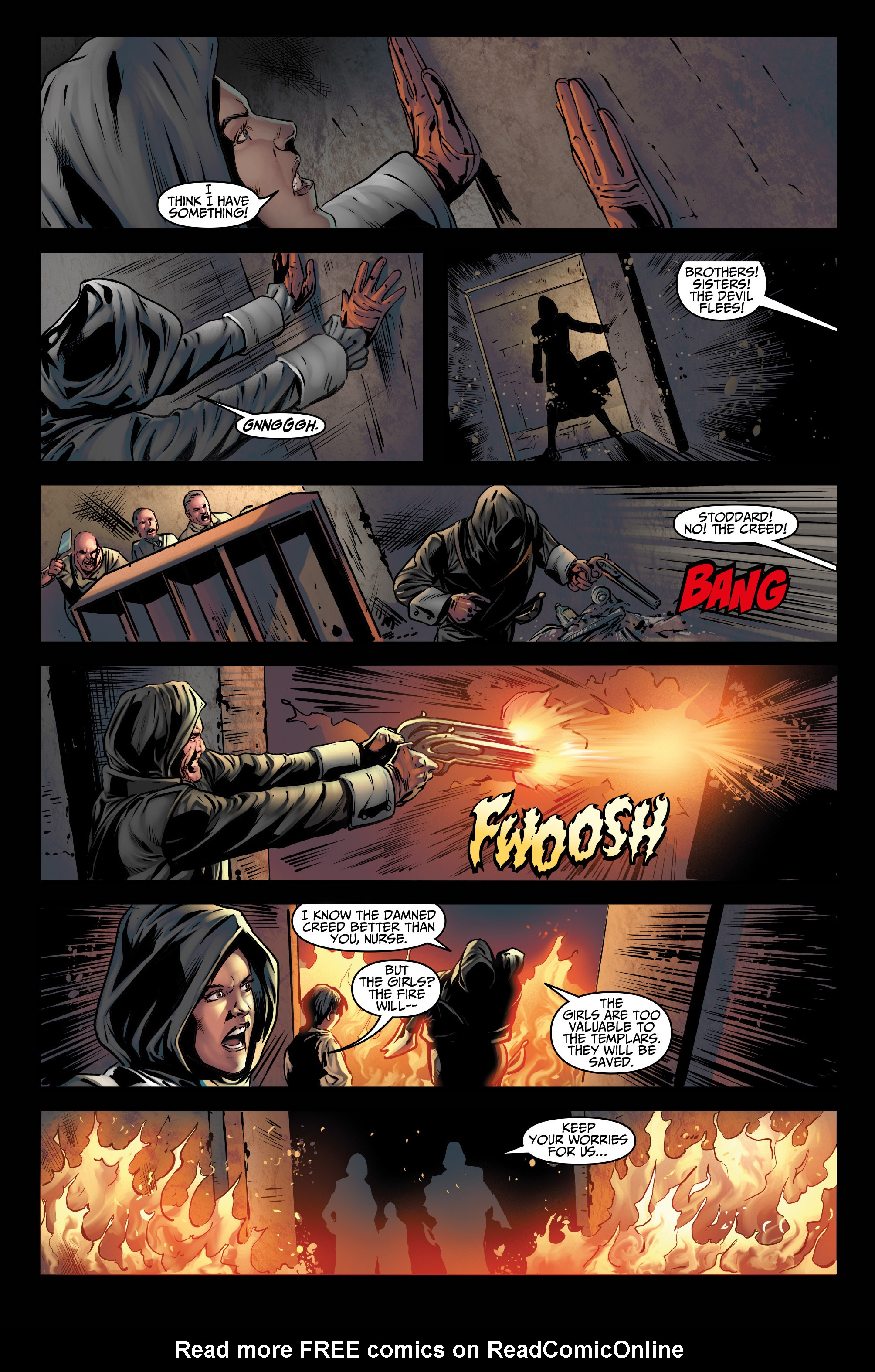 Read online Assassin's Creed (2015) comic -  Issue #3 - 9