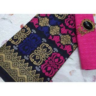 Kain Batik dan Embos 108 Pekalongan motif Prada Pink