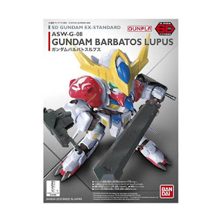 Bandai SD EX Standard Barbatos Lupus Model Kit
