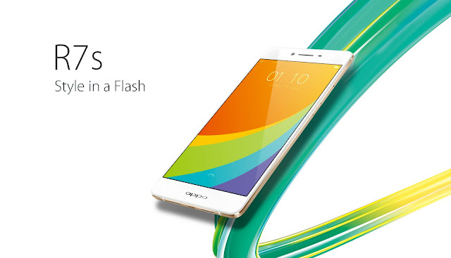 Oppo R7s Specifications - LAUNCH Announced 2015, October DISPLAY Type AMOLED capacitive touchscreen, 16M colors Size 5.5 inches (~72.9% screen-to-body ratio) Resolution 1080 x 1920 pixels (~401 ppi pixel density) Multitouch Yes Protection Corning Gorilla Glass 3  - Color OS 2.1 BODY Dimensions 151.8 x 75.4 x 7 mm (5.98 x 2.97 x 0.28 in) Weight 155 g (5.47 oz) SIM Dual SIM (Nano-SIM/ Micro-SIM, dual stand-by) PLATFORM OS Android OS, v5.1 (Lollipop) CPU Quad-core 1.5 GHz Cortex-A53 & quad-core 1.0 GHz Cortex-A53 Chipset Qualcomm MSM8939 Snapdragon 615 GPU Adreno 405 MEMORY Card slot microSD, up to 128 GB (uses SIM 2 slot) Internal 32 GB, 4 GB RAM CAMERA Primary 13 MP, f/2.2, phase detection autofocus, LED flash Secondary 8 MP, f/2.4 Features Geo-tagging, touch focus, face detection, panorama, HDR Video 1080p@30fps NETWORK Technology GSM / HSPA / LTE 2G bands GSM 850 / 900 / 1800 / 1900 - SIM 1 & SIM 2 3G bands HSDPA 850 / 900 / 1900 / 2100 - Global, Taiwan, USA 4G bands LTE band 1(2100), 3(1800), 5(850), 7(2600), 8(900), 20(800), 40(2300) - Global  LTE band 1(2100), 3(1800), 5(850), 7(2600), 8(900), 28(700), 38(2600), 39(1900), 40(2300), 41(2500) - Taiwan  LTE band 1(2100), 2(1900), 4(1700/2100), 7(2600), 17(700) - USA Speed HSPA, LTE Cat4 150/50 Mbps GPRS Yes EDGE Yes COMMS WLAN Wi-Fi 802.11 a/b/g/n/ac, WiFi Direct, hotspot GPS Yes, with A-GPS USB microUSB v2.0, USB Host Radio  Bluetooth v4.0 FEATURES Sensors Sensors Accelerometer, proximity, compass Messaging SMS (threaded view), MMS, Email, Push Email Browser HTML5 Java No SOUND Alert types Vibration; MP3, WAV ringtones Loudspeaker Yes 3.5mm jack Yes BATTERY  Non-removable Li-Po 3070 mAh battery Stand-by  Talk time  Music play  MISC Colors Golden Features - Fast battery charging: 75% in 30 min - Active noise cancellation with dedicated mic - MP4/H.264 player - MP3/WAV/eAAC+/FLAC player - Document viewer - Photo/video editor