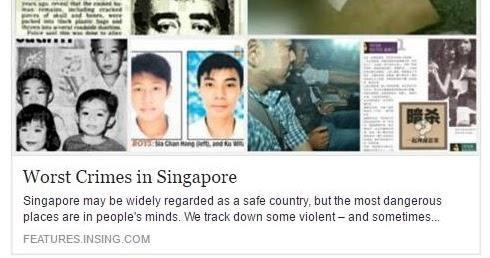 Under The Angsana Tree Worst Crimes In Singapore