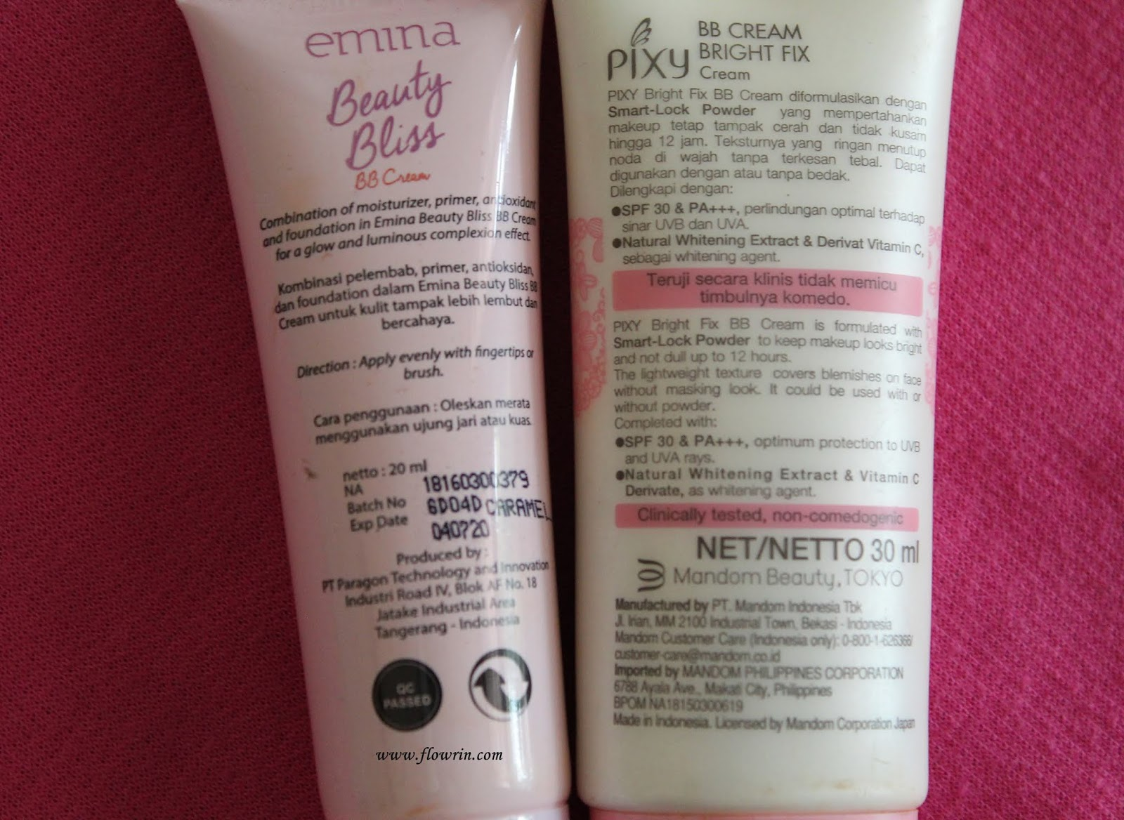 Flowrin's Note: (REVIEW + COMPARISON) Emina Beauty Bliss