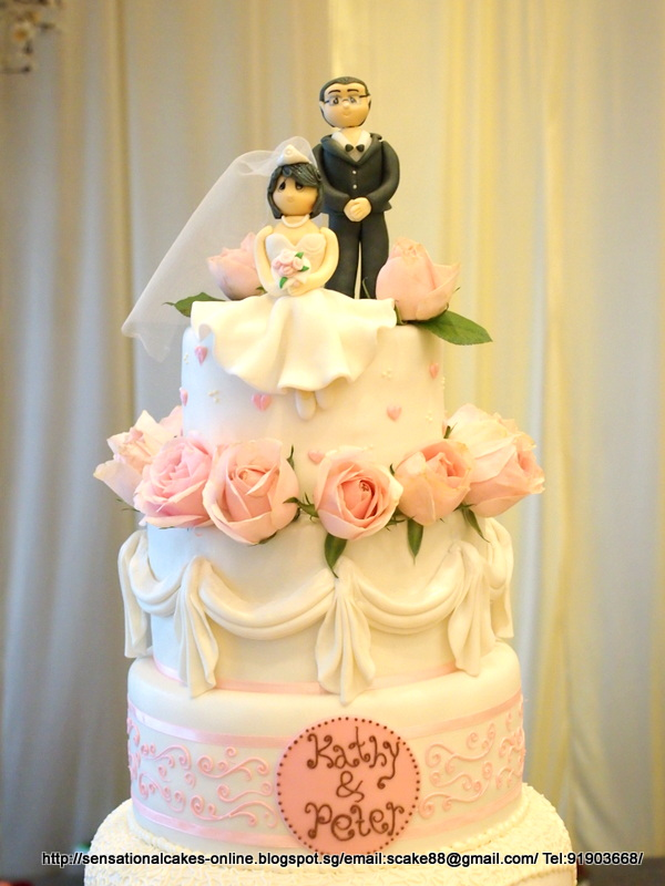 5 tier wedding cake singapore the sensational cakes 5 tier wedding cake 10470