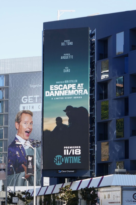Escape at Dannemora Showtime billboard