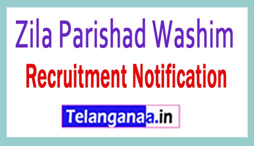 Zila Parishad Washim Recruitment