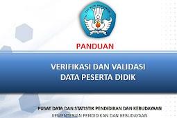 Panduan Lengkap Verval PD ( NISN ) Operator Sekolah Dasar