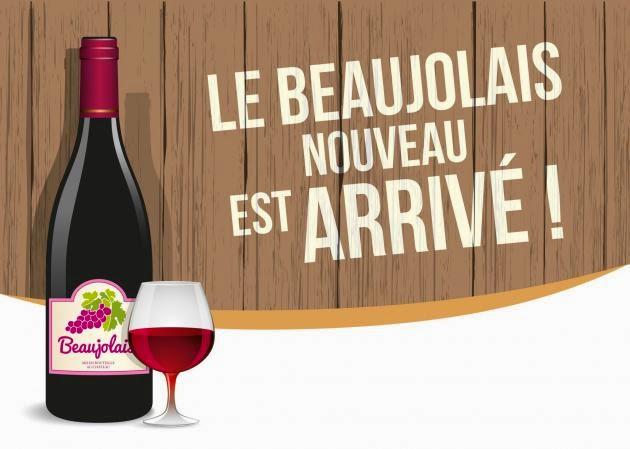 Le Beaujolais - nagłówek - Francuski przy kawie