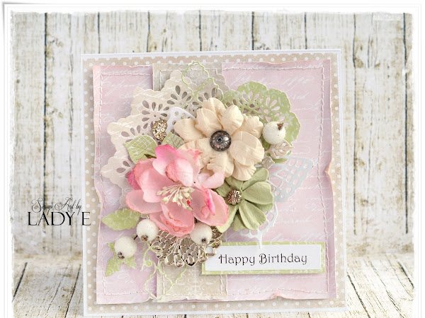 Soft Romantic Vintage Card