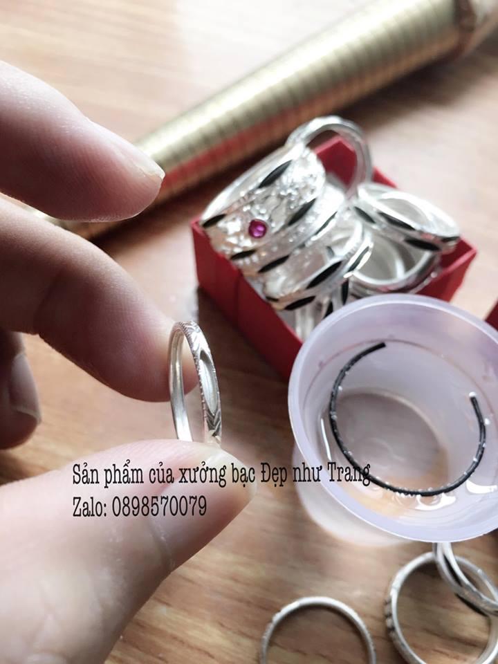 Quy trình làm 1 chiếc nhẫn lông voi