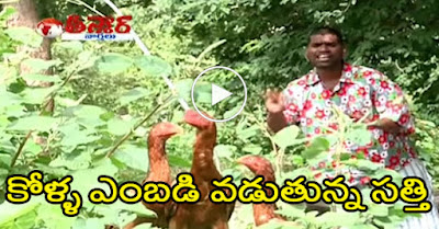 Bittiri Satti Catching Hens | Savitri Funny With Satti | Teenmaar News
