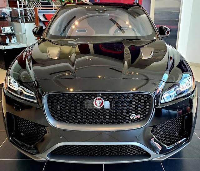 2020 Jaguar F-Pace SVR black for sale-in-lease