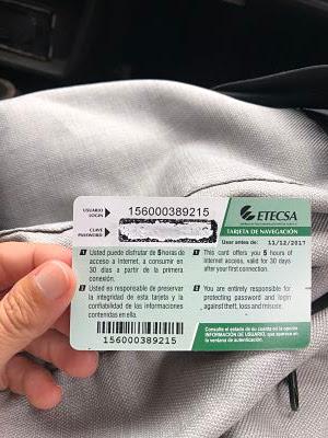 tarjeta wifi ETECSA cuba