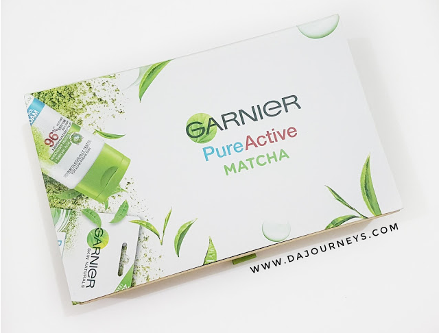 [Review] Garnier Pure Active Matcha Deep Clean Series