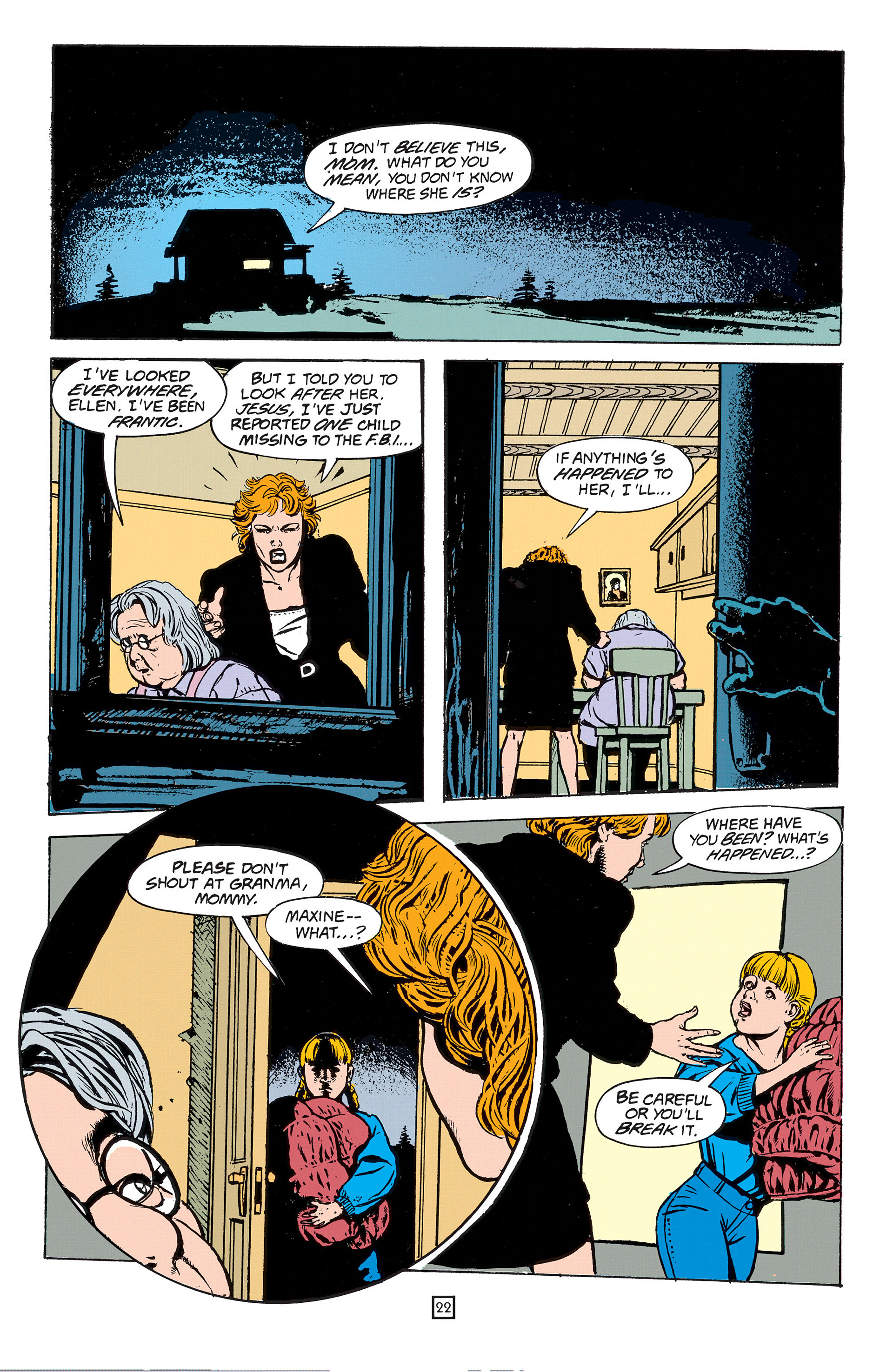 Read online Animal Man (1988) comic -  Issue #55 - 22
