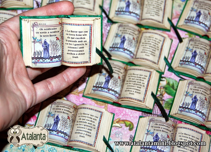 Atalanta Miniaturas Biblias Abiertas Para Comunión
