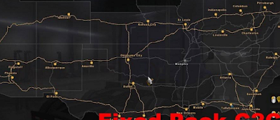 American Truck Simulator Coast to Coast Fix Pack Map For v1.6 Download MODs