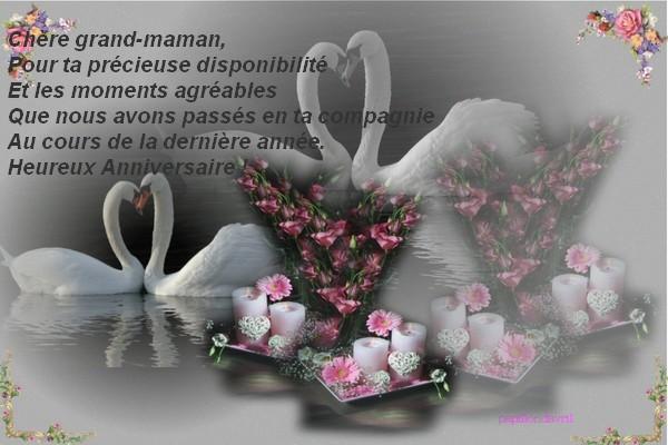 Bon Anniversaire Grand Mere