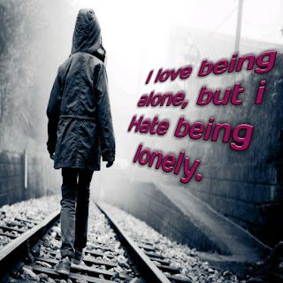 I love Being Alone Whatsapp DP,I love Being Alone Wallpapers