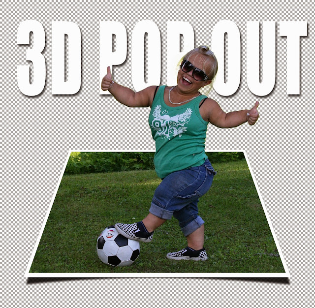 How To Make a 3D, Pop-Out Effect — Photoshop Tutorial