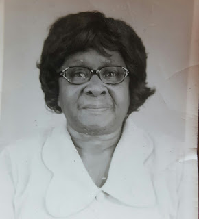 portrait of Nicole's paternal grandmother