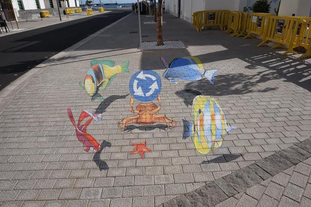 Lanzarote, 3D Street art
