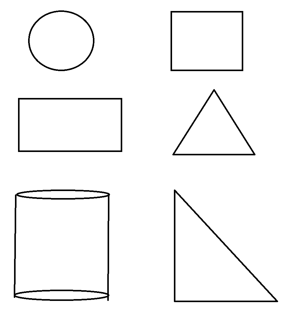 Desenhos De Figuras Geométricas Para Imprimir