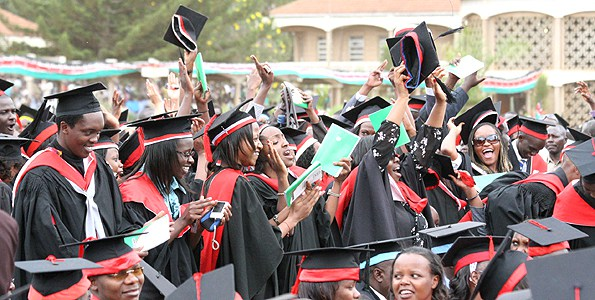 University students from Kenya